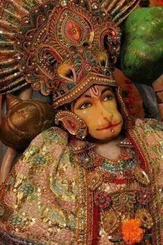 Lord Hanuman, servant of Lord Rama Hindu Deities, Hinduism, Shri Hanuman, Ganesha Art, Hindu Temple, Hindu Art, Indian Gods, Shiva, Statue