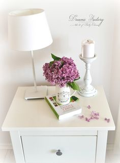 A little bit of happiness and a French tour of our home, filled with lilac and handmade decorations | Dreams Factory