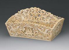 Dremel, Bone Carving, Vintage Shabby Chic, Casket, Ivoire, Wood Crafts, Decorative Boxes, Elephant, Sculpture