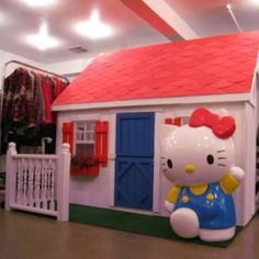 Play house for little girls. Super cute!