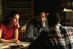 Still of Morgan Freeman and Ashley Judd in Kiss the Girls (1997)