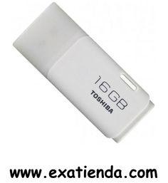 Ya disponible Memoria USB 2.0 Toshiba 16gb blanco   (por sólo 15.99 € IVA incluído):   -Capacidad: 16GB -Interface: USB 2.0 -Velocidad lectura: 17MB/s -Velocidad escritura: 7MB/s -Otros:- -Color: Blanco -P/N:THNU16HAY(BL5 Garantía de 24 meses.  http://www.exabyteinformatica.com/tienda/3440-memoria-usb-2-0-toshiba-16gb-blanco #memoria #exabyteinformatica