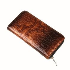OCARDIAN Popular Leather Female Purse Women Purse Crocodile Pattern Zipper Wallet Messenger Bag Clutch Satchel Tote Handbag A Price history. Brown Wallet, Womens Purses, Wallets For Women, Tote Handbags, Luggage Bags, Crocodile, Leather Wallet, Messenger Bag, Zip Around Wallet
