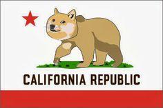 California Bear Flag Illustration | Bear Flag Museum