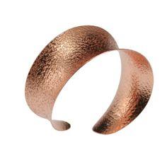 Amazon.com: John S Brana Anticlastic Texturized Copper Bangle Bracelet: Jewelry