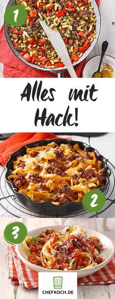 Hackfleischgerichte: schnell, einfach und lecker!