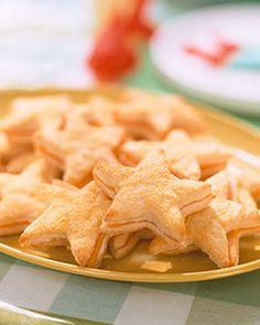 Starfish Biscuit Sandwiches Recipe | Martha Stewart