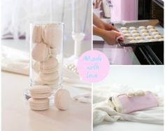 Vanilla Macarons made with love This recipe actually worked for me! Step by step instructions to macaroons (in norwegian). Vanilla Macaroons, Baking Recipes, Dessert Recipes, How To Make Macarons, Cupcake Cookies, Cupcakes, Macaron Recipe, Cookie Pie, Sweet Tooth