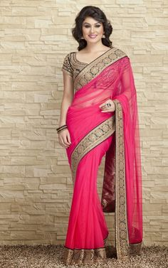 Indian-Designers-Beautiful-Bridal-Wedding-Saree-dress-Design-New-Fashionable-Sari-for-Girls-Women-4