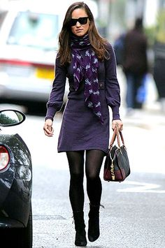 Pippa Middleton in a Beulah London scarf