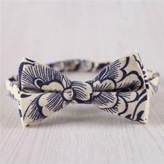 pre-atado. UK Made Harris Tweed Azul Lana Calidad Premium Corbata De Moño