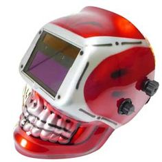 Skull welding helmets. Look like the welding undead.  #skull #welding #helmets