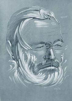 Shuplyak Oleg - The Oldman and big fish / Шупляк Олег - Старий і велика рибина