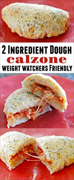 This large calzone is easy to make and is 8 Freestyle Points. This Weight Watchers recipe is filling and delicious! Pizza Weight Watchers, Poulet Weight Watchers, Weight Watchers Lunches, Plats Weight Watchers, Weight Watchers Chicken, Ww Recipes, Cooking Recipes, Healthy Recipes, Dinner Recipes