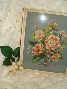 Assez Vintage Bouquet imprimé Floral camélia par SweetPeaRomance