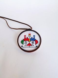 Items similar to Bulgaria ethnic jewelry, Ethnic necklace red, Tribal jewelry with Bulgarian embroidery, Ethno art jewelry, Geometric art embroidery on Etsy Tribal Jewelry, Jewelry Art, Wedding Day Timeline, Bulgarian, Geometric Art, Keychains, Folk Art, Cross Stitch, Embroidery