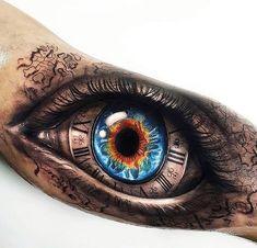 Amazing work by ! Bicep Tattoo, Forearm Tattoos, Body Art Tattoos, Sleeve Tattoos, Eye Tattoos, Hand Tattoos For Guys, Baby Tattoos, Unique Tattoos, Tattoo Mama