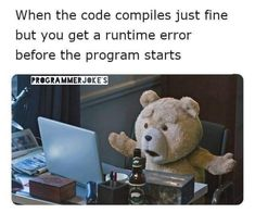 We provide the best funny jokes and pic which make your life happy and stress free. Computer Science Humor, Best Funny Jokes, Youtube I, Survival Skills, Bts Memes, Teddy Bear, Anime, Books, Happy