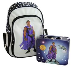 Customized Black Superhero Backpack and Lunchbox Combo Bob S, American Children, Child And Child, Little Ones, Wall Decals, Lunch Box, African, Backpacks, Superhero