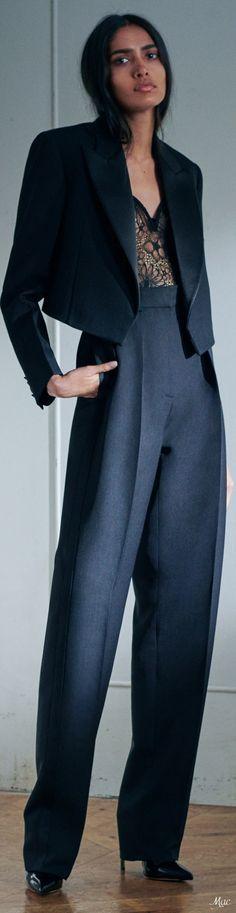 Fashion Line, Fashion Pants, Fasion, High Fashion, Female Tux, Viktoria Beckham, Power Dressing, Fashion Labels, Work Wear