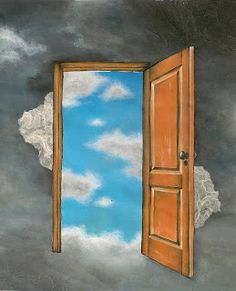 When Opportunity Knocks, Open the Door: Donor Acquisition 2017 - Clairification Zodiac Houses, Opportunity Knocks, Rene Magritte, Helen Keller, House Doors, Birth Chart, Eight, Surreal Art, Comfort Zone