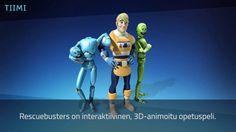 Rescuebusters – pelataan maailma turvalliseksi! Tästä linkistä youtuben esittelyvideoon.