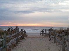 25th street. Avalon NJ. My love Avalon Beach, Beach Bum, Vacation Spots, New Jersey, Beautiful Beaches, To Go, Walkways, Sunsets, Places