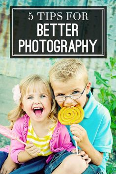 5 tips for better photography