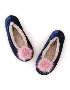 Velvet slipper AR634 Slippers at Boden