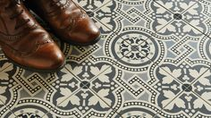 Victorian style patterned geometric floor tiles – a closer look at what's new