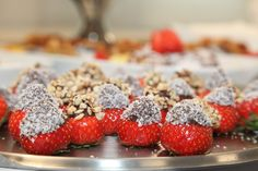 #Strawberry #Fingerfood #summerparty
