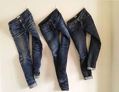 The unbranded Brand UB121 / Pure Blue Japan XX012 / Naked & Famous #denim #jeans #selvedge #indigo #fashion #menswear