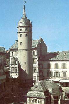 Darmstadt früher | Weißer Turm | by DerSüdhesse
