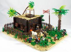 Treasure Island - The Attack