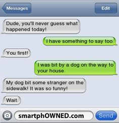 Dog troubles. - SmartphOWNED