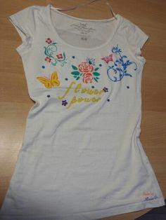 T-Shirt mit Airbrush