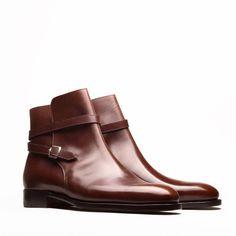 Our interpretation of the Jodhpur boot, available through #StefanoBemerMTO program only! #StefanoBemer #bespoke #bespokeshoes #bespokemakers #florence #firenze #newyork #jodhpurboots