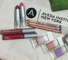 Aveda's Indian sunset spring/summer make-up collection.