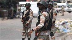 کراچی میں رینجرز نے ایک کارروائی کے دوران افغان ایجنسی 'این ڈی ایس' اور بھارتی خفیہ ایجنسی 'را' کے لیے کام کرنے والے 5 دہشت گرد گرفتار کر لیے