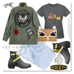 """""""So Fresh and So Keen: Contest Entry"""" by ilona-828 ❤ liked on Polyvore featuring Keen Footwear, Pusheen, Betsey Johnson, Anya Hindmarch, NOVICA and keen"""