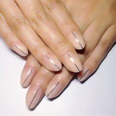 Clean nail look
