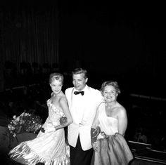 Cannes mai 1957 (Magda Schneider et Karlheinz Bohm)    ...