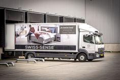 Zeven Mercedes-Benz #Atego 816L en 821L trucks voor Swiss Sense. 2017