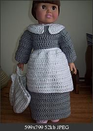 Free crochet pattern - Pilgrim outfit