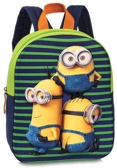Minions, Backpacks, Bags, Fashion, School Backpacks, Totes, Purses, Fashion Styles, Backpack