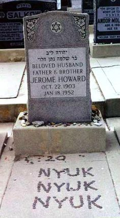 "He was the youngest of Jennie and Solomon Horwitz's five sons, and because of his status as family baby, his mother would often call him ""My baby,"" leading his four much-older brothers to tease him by calling him Baby and later Babe, a nickname he later grew to like so much he often went by it. As a very young child he was already interested in performing, appearing in small home theatrical productions with his older brothers Moe and Shemp. He idolized these two brothers, even though he didn't g"
