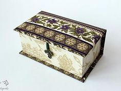 Создаем чудесную шкатулку для украшений   Ярмарка Мастеров - ручная работа, handmade