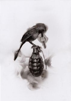 Steven Spazuk: Bird and grenade