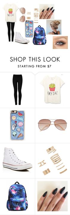 """""""Happy Fry Day!!!! >.<"""" by abbygurl9090 on Polyvore featuring Wolford, Zero Gravity, H&M, Converse and Forever 21"""