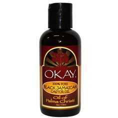 Okay Pure Black Jamaican Castor Oil 4oz